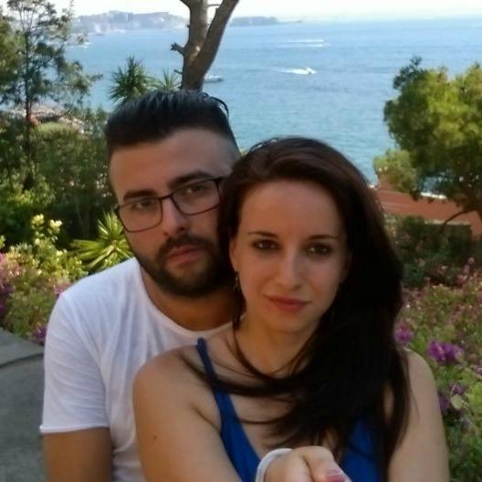 Gianluca Tortorella e Luisa D'antonio