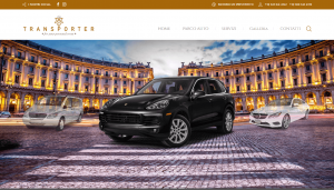 sito wordpress the transporter