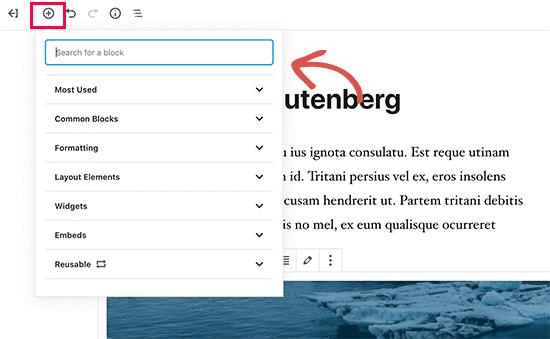 Introduzione a Gutenberg, il nuovo editor Block-Based e i blocchi